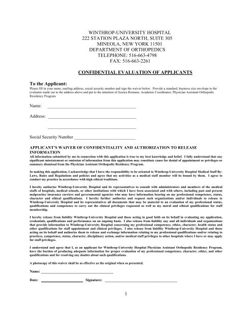 Letter of Recommendation 10-12 (2) - Winthrop University Hospital