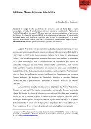 Políticas de Museus do Governo Lula da Silva - Cultura Digital
