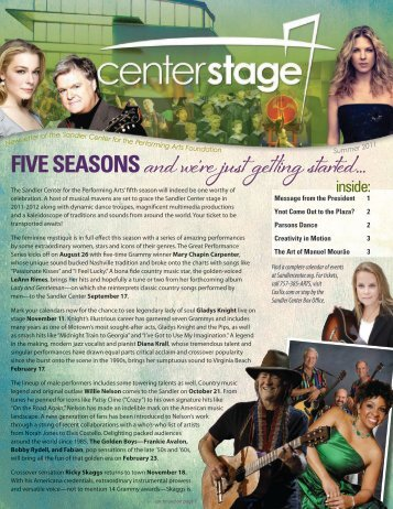 Summer - Sandler Center for the Performing Arts