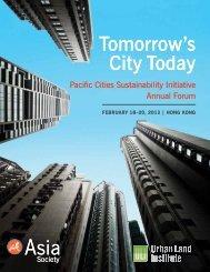 Tomorrow's City Today Tomorrow's City Today - Urban Land Institute