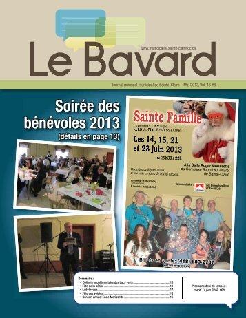 Soirée des bénévoles 2013 - Sainte-Claire