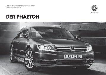 Technische Daten - Volkswagen
