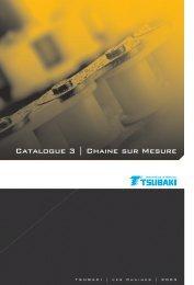 Catalogue 3 | Chaine sur Mesure - Tsubaki Europe