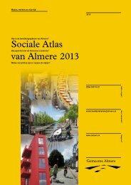 Sociale Atlas Almere 2013 interactief