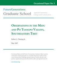 Graduate School - Future Generations