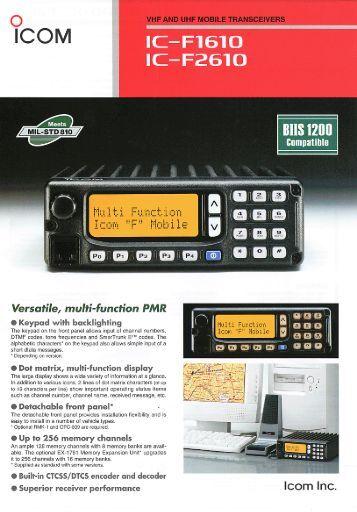 Ic R8500 Manual
