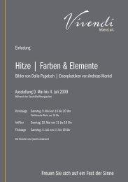 Hitze | Farben & Elemente - Vivendi Lebens-Art