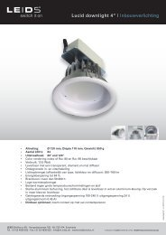 "Lucid downlight 4"" | Inbouwverlichting - LEIDS"