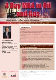 4 Day MBA in Oil and Gas AD.indd - Warren Business Consulting