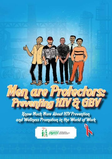 Men are Protectors: Men are Protectors: - SAfAIDS