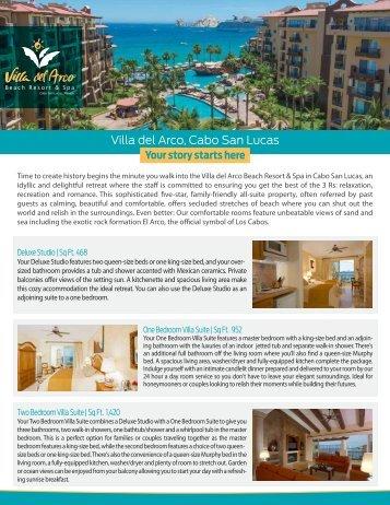 Download this fact sheet as a PDF - Villa Group