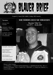 WIR WERDEN DICH NIE VERGESSEN! - Ultras Gelsenkirchen