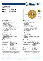 ac-modul-w-nm/x ac-modul-n-nm/x - Neumüller Elektronik GmbH