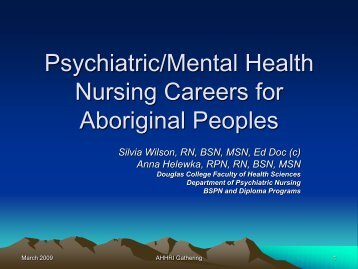 Appendix 6-Douglas Psychiatric Mental Health Nursing Careers