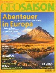 Artikel über das Bärenbeobachten in der Zeitschrift ... - Tuja Reisen!