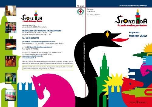 Calendario Febbraio 2012 - Castello Sforzesco