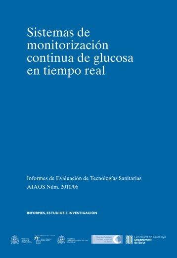 Sistemas de monitorización continua de glucosa en tiempo real