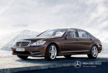 The 2012 S - Class - Mercedes-Benz Laval