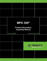 Mobile Protection System - Trinity Highway Products, LLC