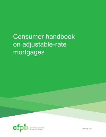 consumer handbook on adjustable rate mortgages - Northern ...