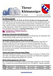 Kleinanzeiger 05/2010 (199 KB) - .PDF