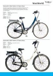 WattWorld - Zweirad Schwarz