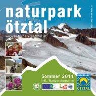 Sommer 2011 - Naturparks Tirol