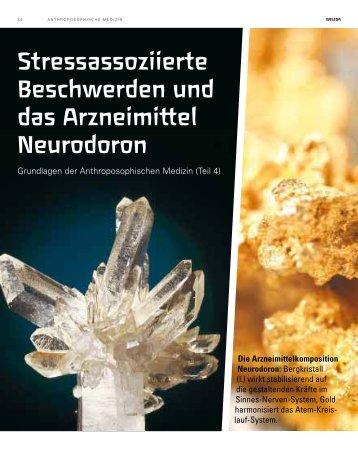 Stressassoziierte Beschwerden und das Arzneimittel Neurodoron