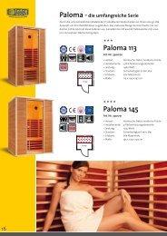 Paloma 145 Paloma 113