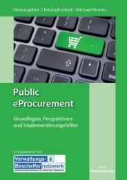 Public eProcurement Grundlagen, Perspektiven ... - TEK-Service AG
