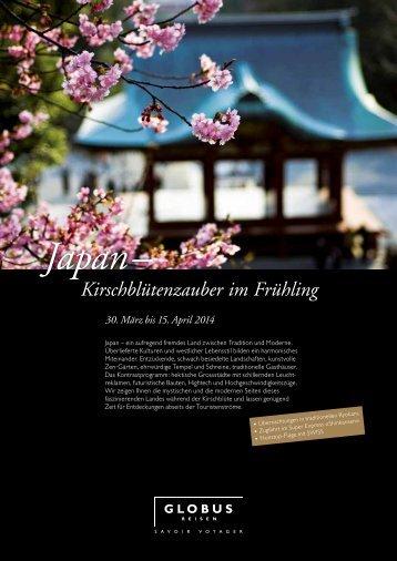 Japan– Kirschblütenzauber im Frühling - FRI Travel