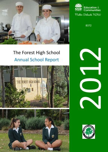 The Forest High School Annual School Report