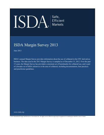 ISDA Margin Survey 2013