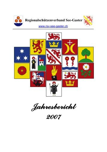 Jahresbericht 2007 - RSV See-Gaster