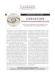 EVOLUTION - Visionjournal.de