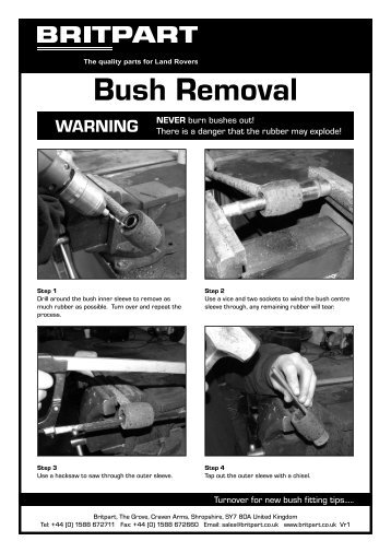 Bush Removal - Paddock Spares