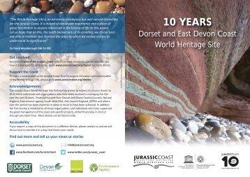 jc_10_year report 1.31 Mb - Jurassic Coast