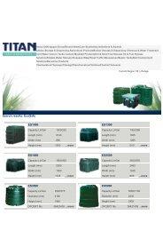 Titan Oil Storage Tanks - Artizan Heating