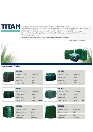 Titan Oil Storage Tanks - Artizan Heating