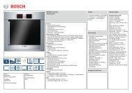 Bosch HBR78B751 Elektro-Einbaubackofen Vorgänger - VS Elektro