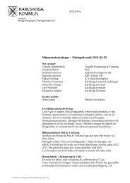 120229 Näringslivsrådet.pdf - Karlskoga kommun