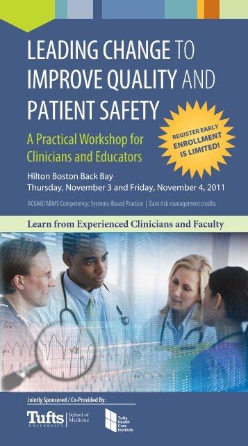 Brochure - Tufts Health Care Institute
