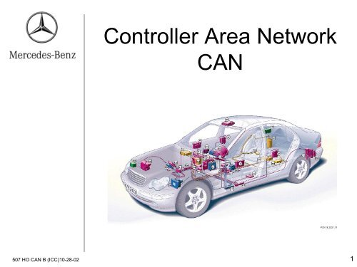 Controller Area Network CAN-B - MBUSA Technical Training