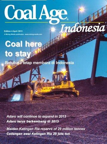 Adaro terus berkembang di 2013 - The ASIA Miner
