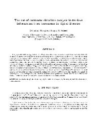 The use of document structure analysis to retrieve ... - CiteSeerX