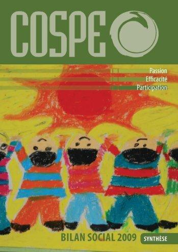 Bilan Social FR 2009 - Cospe