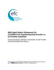BM Engelli Hakları Sözleşmesi'nin (VC/2008/1214 ... - Sabancı Vakfı