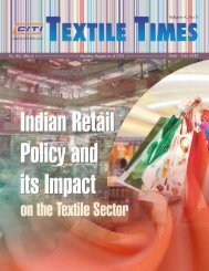 July 2012 - CITI Confederation of Indian Textile Industry
