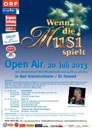 Musi Flyer Juli 2013.pdf - Bad Kleinkirchheim