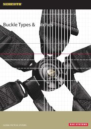 Buckle Types & Latches - Schroth Safety Products GmbH